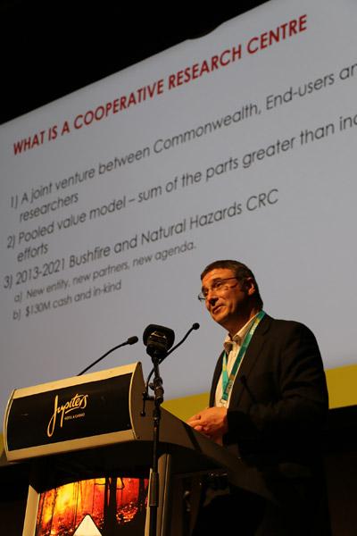 CEO Dr Richard Thornton at ANZDMC 2015