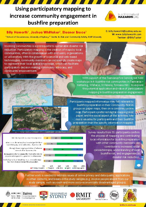 Research poster 2016 - Billy Haworth