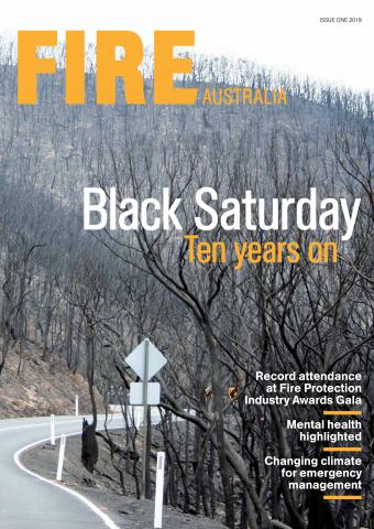 Fire Australia front cover Issue One 2019