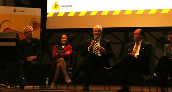 Disaster Reduction Day 2016 - speaker panel