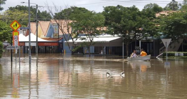 Brisbane floods 2011. Photo: Angus Veitch (CC BY-NC 2.0)