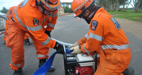 Dr Darja Kragt will talk about volunteer expectations and stereotypes. Photo: South Australia SES (CC BY-NC-SA 2.0)