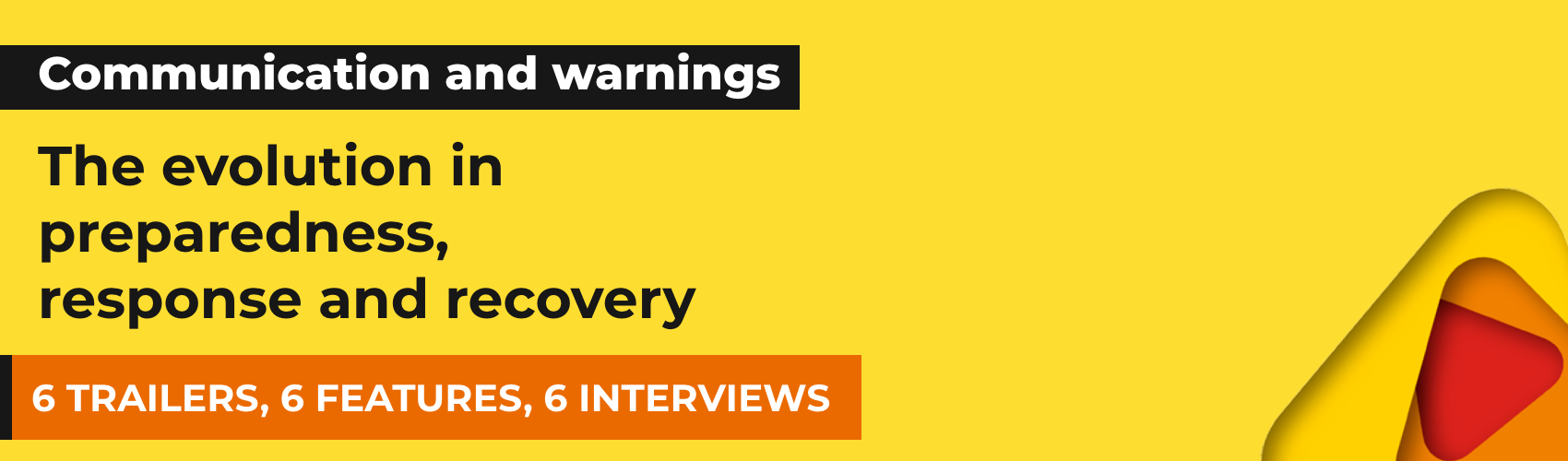 Communications and warnings documentaries banner