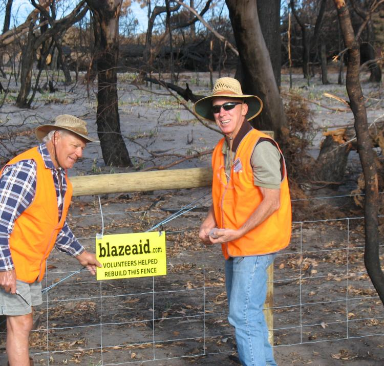 BlazeAid volunteers