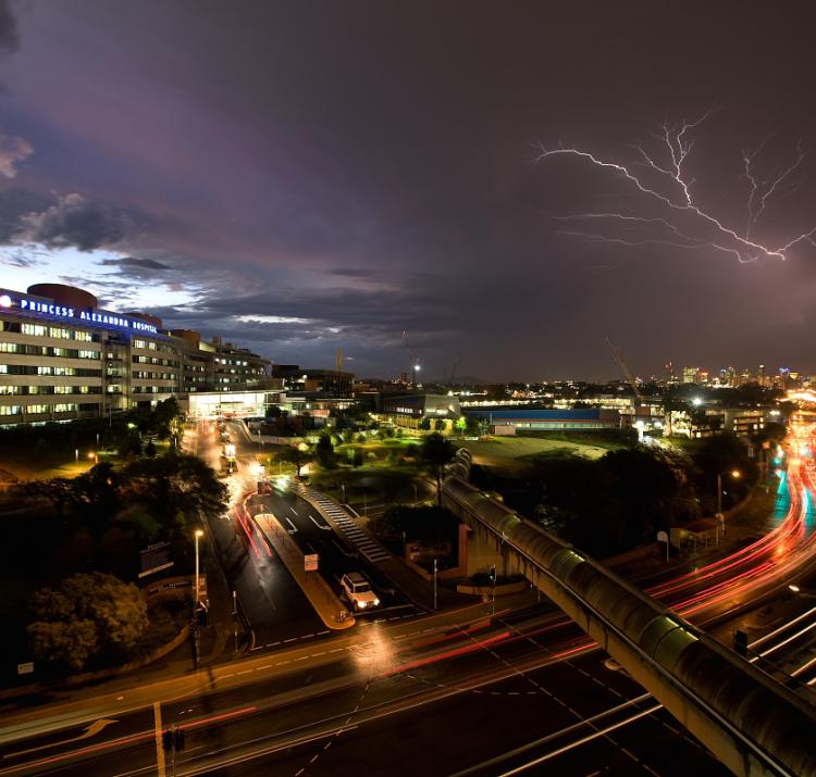 A supercell storm over Brisbane in 2008. Photo by Flickr user Garry61