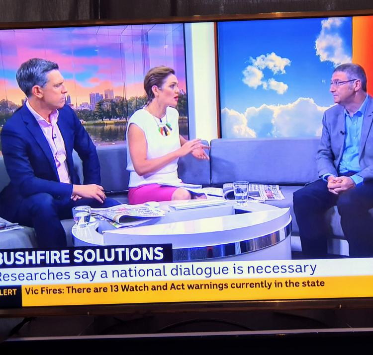 Dr Richard Thornton on ABC TV Breakfast