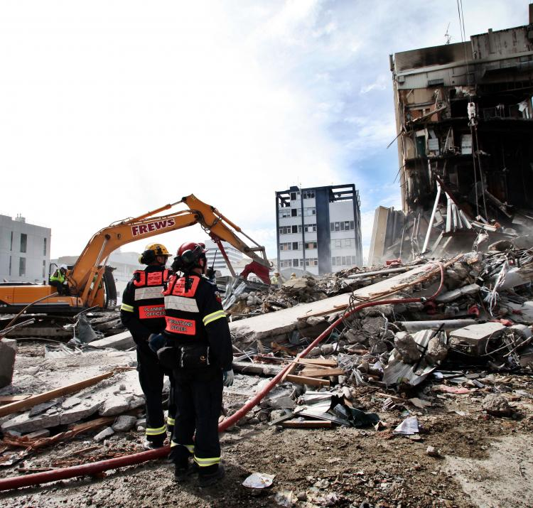 Research is modelling the potential impact of disasters beyond our experience