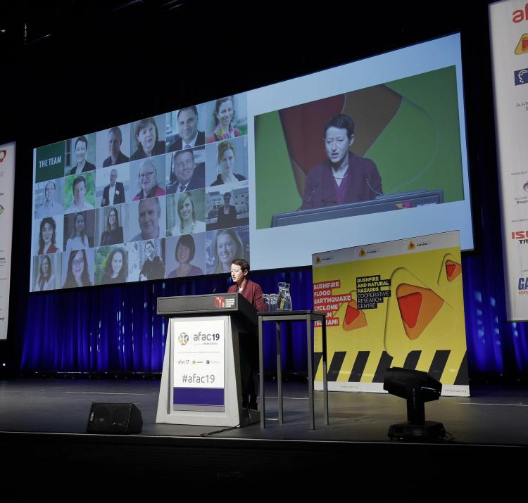 Australia's leading conference in emergency management has finished again for another year, with CRC research leading the way.
