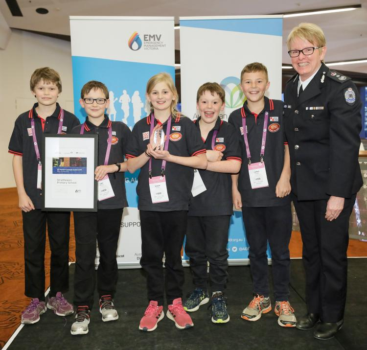 Strathewen Primary School at AFAC19. Photo: BNHCRC