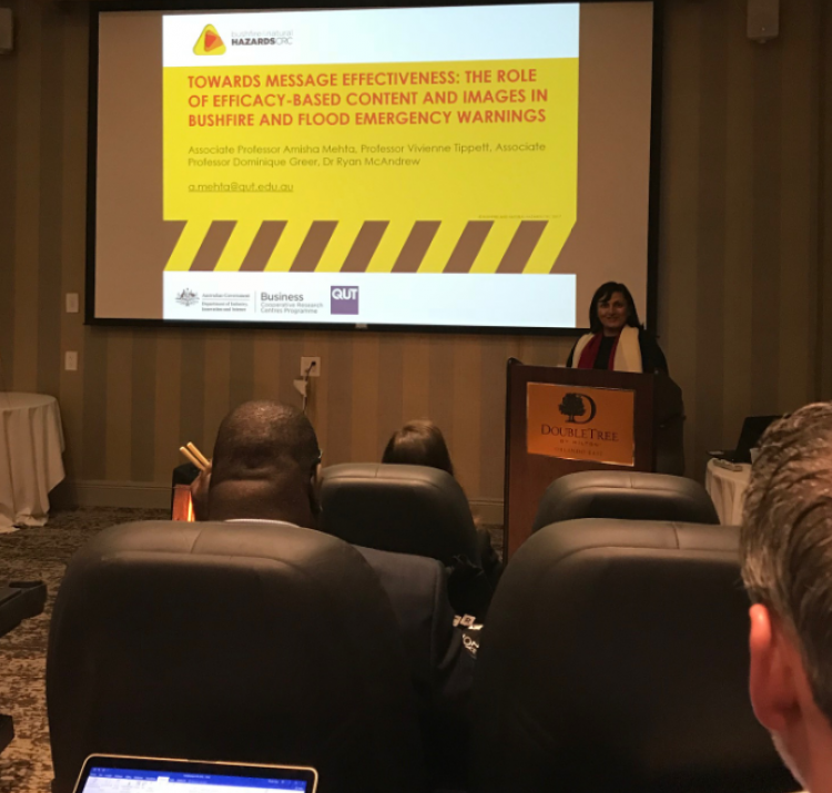 Amisha Mehta connects with industry and academic interests to examine critical issues in risk and crisis communication.