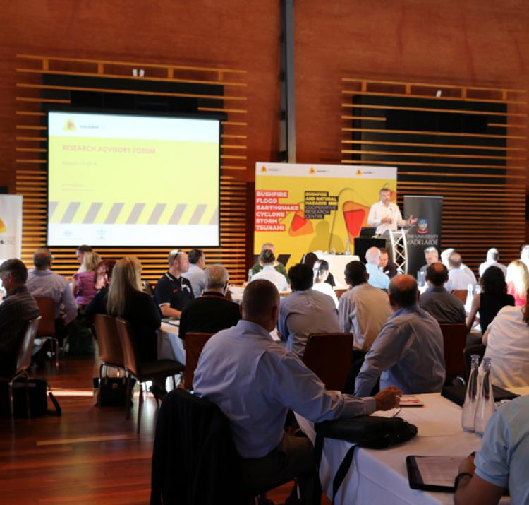 Research Advisory Forum 2014 at the National Wine Centre, Adelaide.