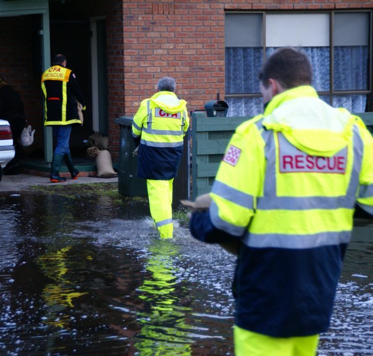 CFA assist flood affected residents