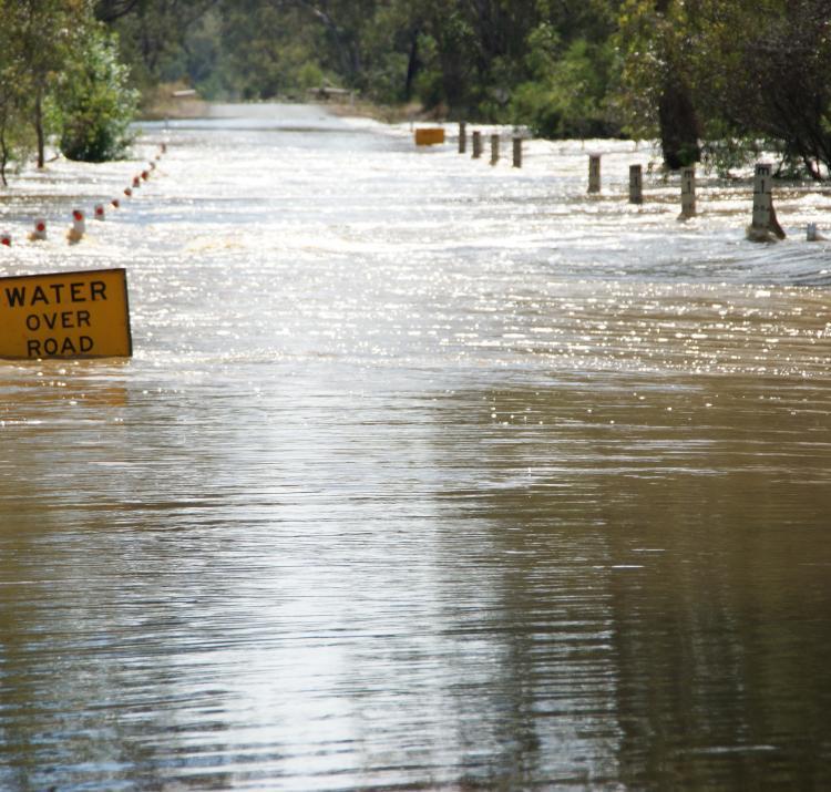 Roadway flooding