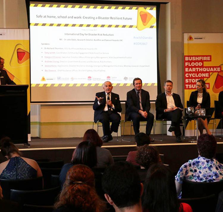 Australian panel for IDDR 2017