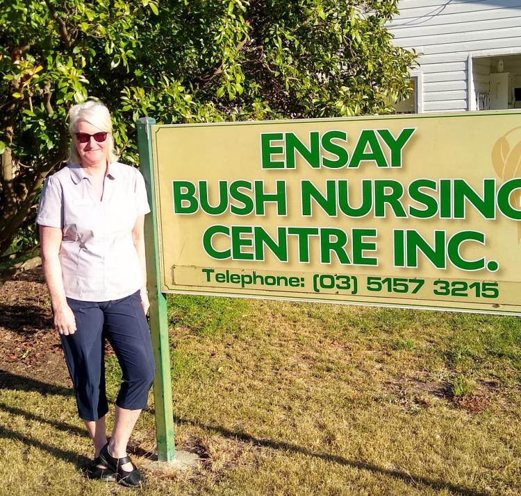 Dr Fiona Jennings at the Royal Flying Doctors Service practitioner day in Ensay, East Gippsland March 2020.