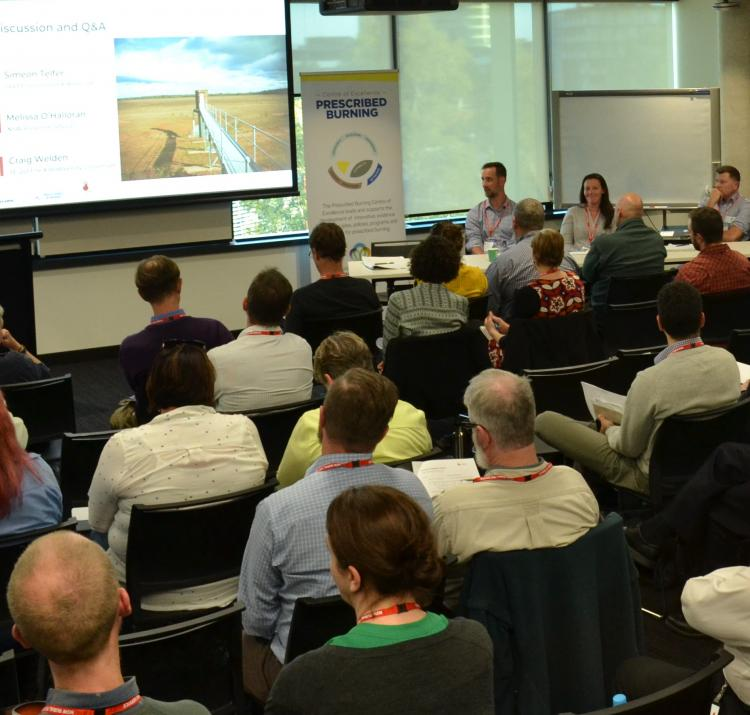 A panel discussion at the 2019 RAF, Sydney