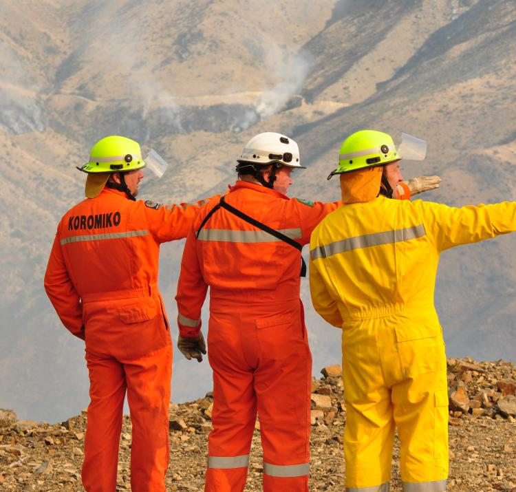 During emergencies, individuals and teams often work under considerable pressure. Photo: New Zealand Fire Service.