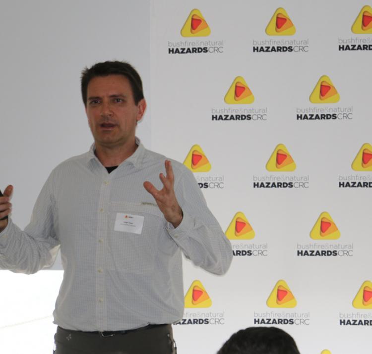 Holger Maier presents at the 2016 Hobart RAF
