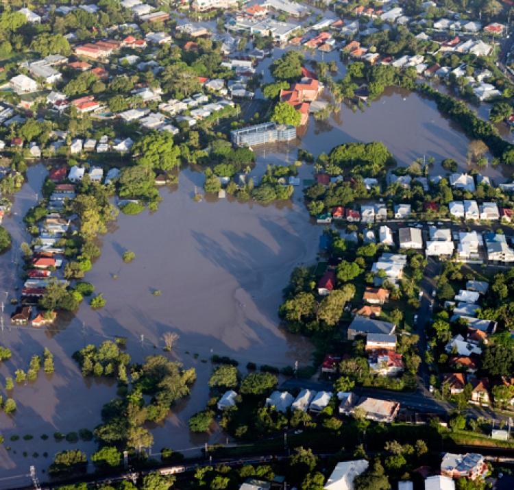 Floodplain. Photo: istock.