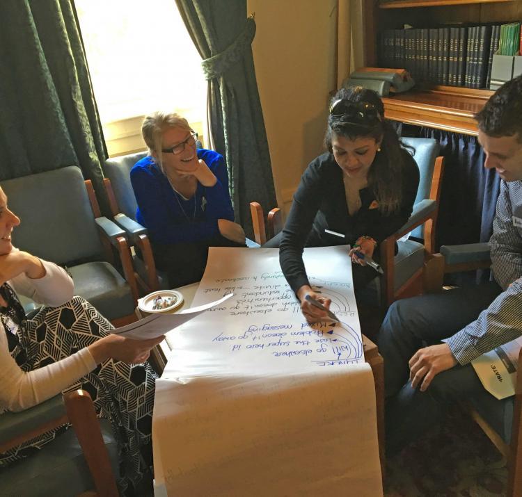 Participants at the workshop. Photo: Tarn Kruger