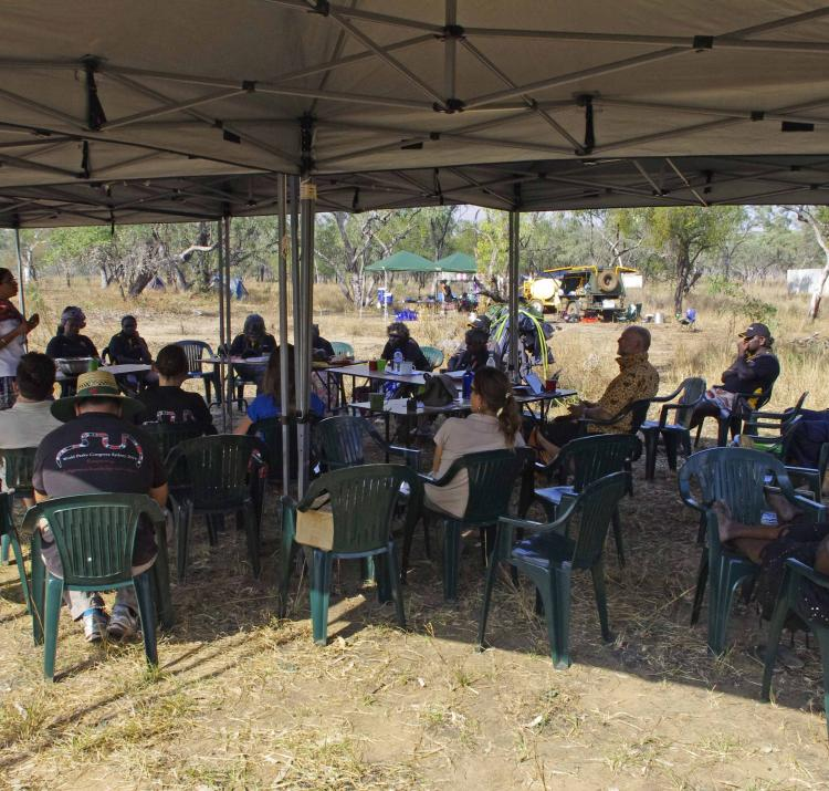 CRC workshop on resilience in Ngukurr, NT