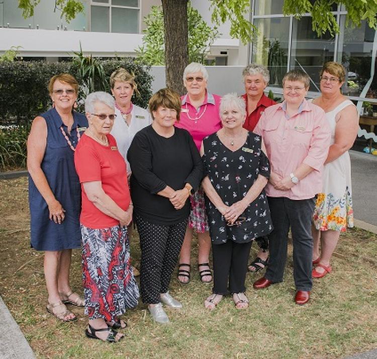 NSW CWA office bearers 2017-18. Photos: NSW CWA
