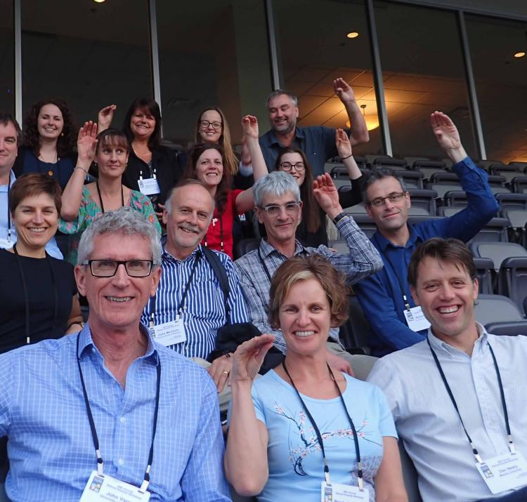 There were plenty of Australian and New Zealand researchers at the workshop.