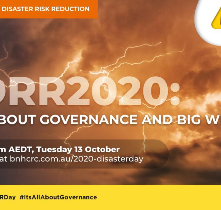 International Day for Disaster Risk Reduction 2020