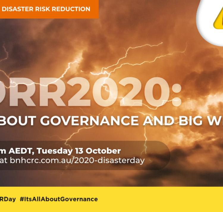 International Day for Disaster Risk Reduction 2020