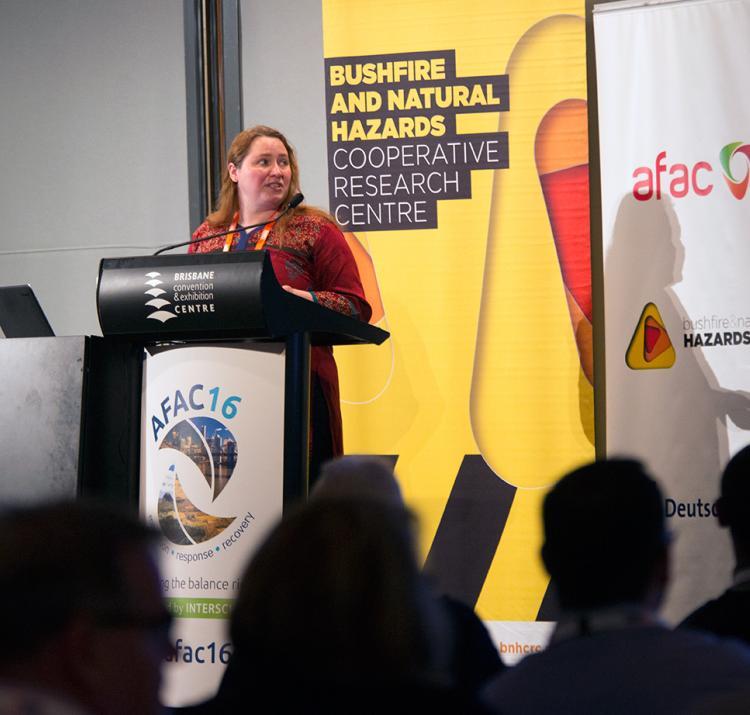 Research Forum at Brisbane AFAC16