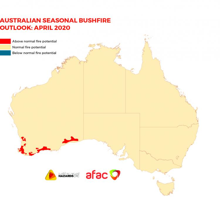 Australian Seasonal Bushfire Outlook: April 2020