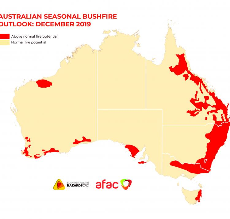 Australian Seasonal Bushfire Outlook December 2019