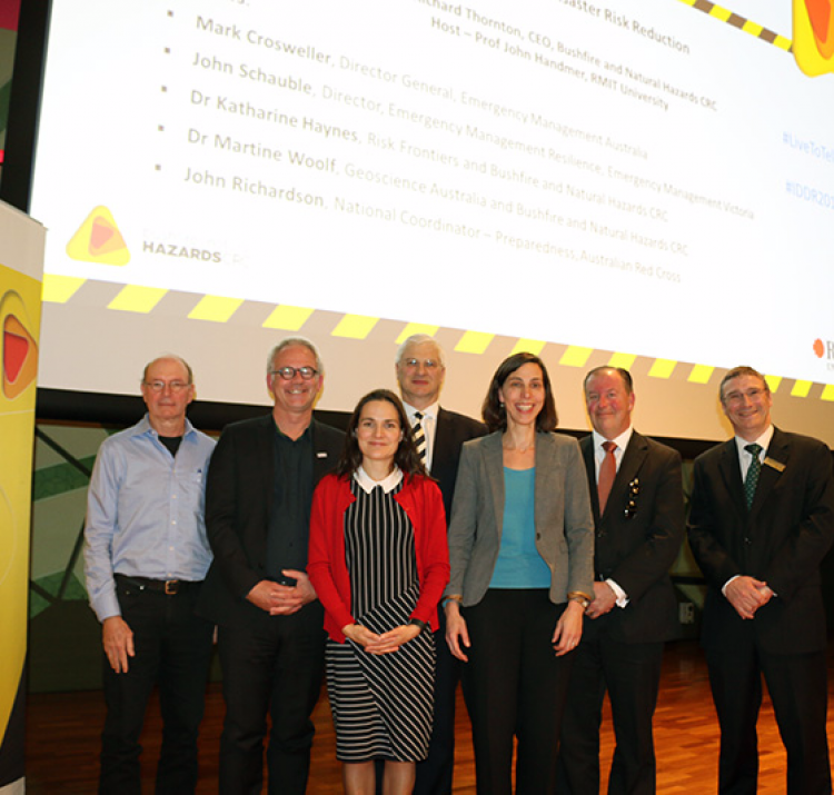 Panelists at 2016's International Day for Disaster Reduction.