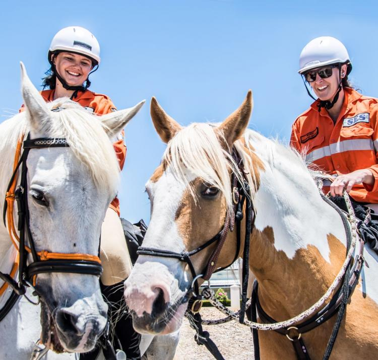 This research investigated issues of recruitment, retention, diversity and wellbeing among State Emergency Service volunteers. Photo: Department of Fire and Emergency Services, Western Australia