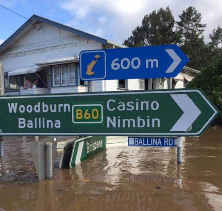 This research has developed a new model for estimating flood risk. Photo: NSW State Emergency Service.