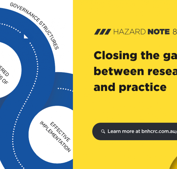 Hazard Note 84 – Closing the gap between research and practice