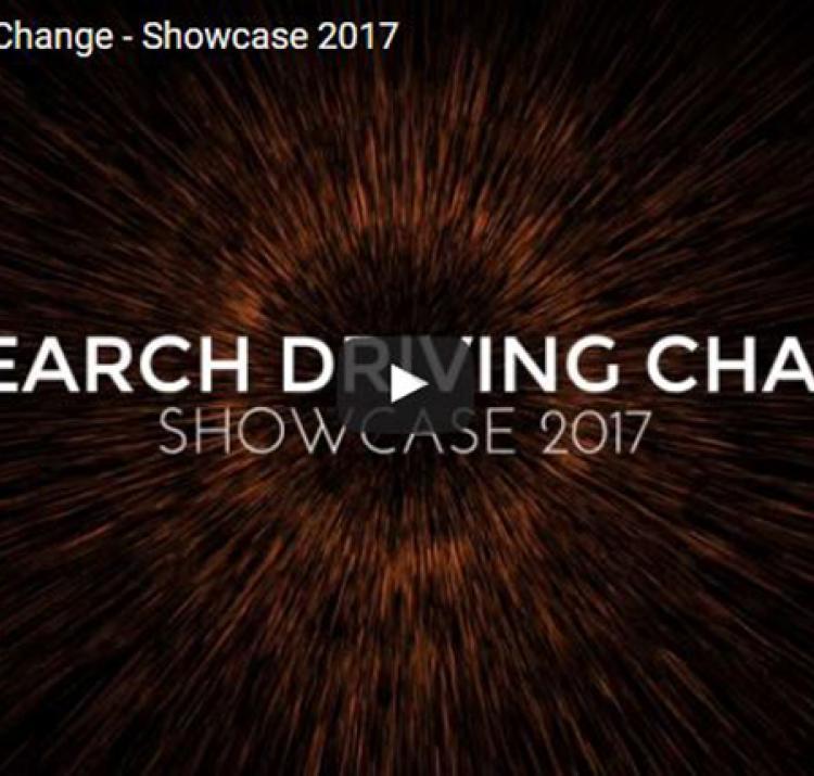 Research Driving Change - Showcase 2017