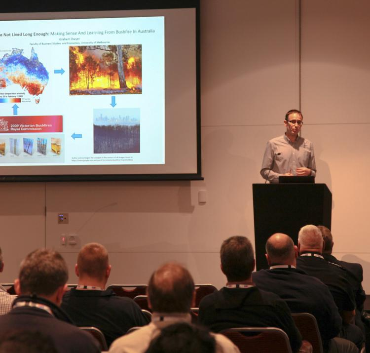 Graham Dwyer talks at AFAC15