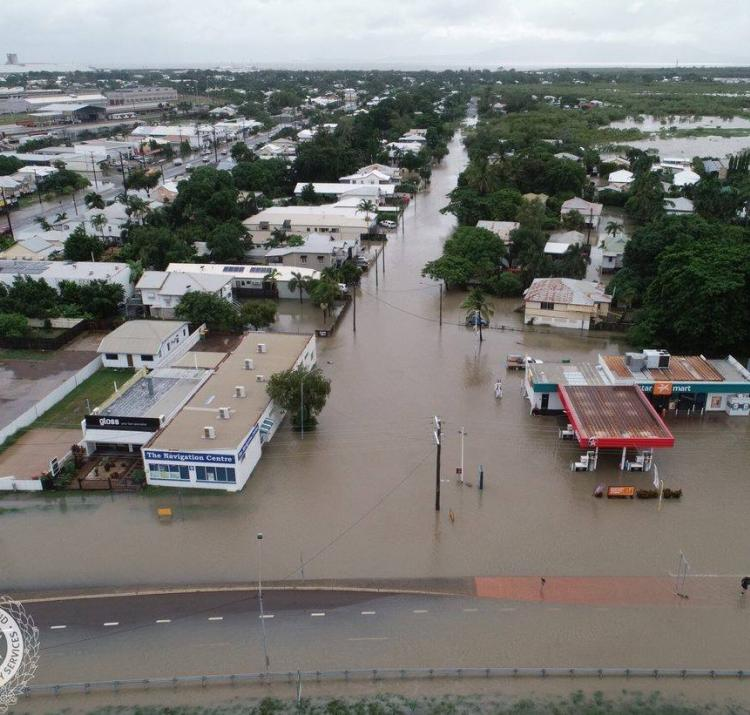 Townsville floods 2019. Photo: QFES