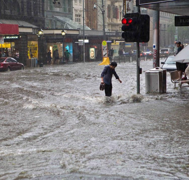 Melbourne during a storm in 2010. Photo: Ben Houdijk (CC-by-nc-nd-2.0)