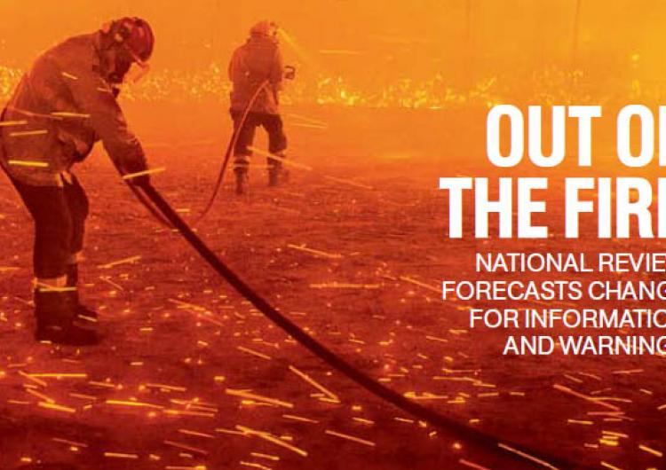 The Winter 2015 edition of Fire Australia magazine.