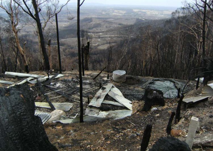 Kinglake, Victoria after the 2009 Black Saturday bushfires