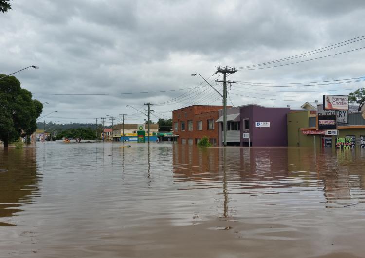 Lismore floods 2017. Photo: NSW SES