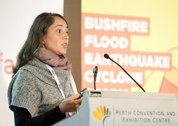 Dr Veronique Florec from the University of Western Australia