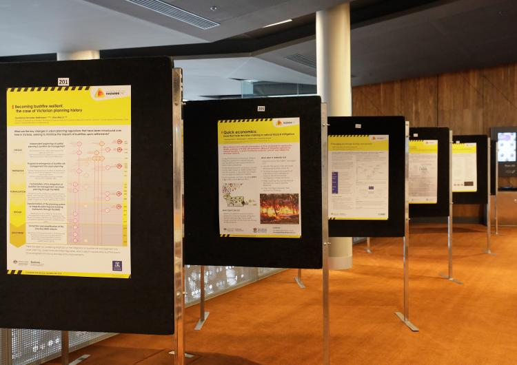 CRC project posters presented at AFAC19.