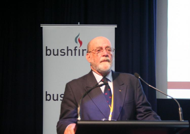 Ian MacDougall, AC, AFSM, former Independent Chair of the Bushfire CRC