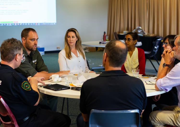Day 1 of the Northern Australia Research Engagement Forum at Charles Darwin University. Photo: Melina Pearse, NAILSMA