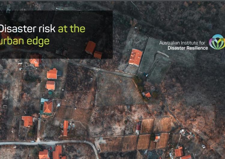 Disaster risk at the urban edge. Photo: AJEM Issue 35