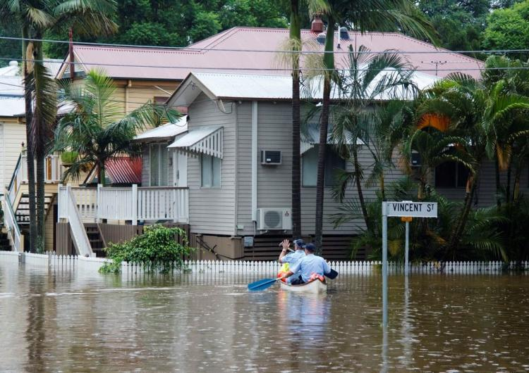 2011 Brisbane floods. Photo: Angus Veitch (CC BY-NC 2.0).
