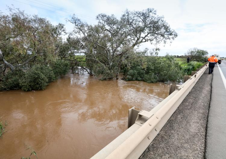 Adelaide floods. Photo: SA SES Flickr